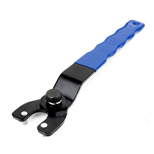 Schraubenschlüssel Stiftschlüssel mit starkem Griff Werkzeug Zubehör Verstellbarer 8-50 mm Winkelschleifer Schlüssel Ø 200 mm Pin Schraubenschlüssel Reparatur Werkzeug