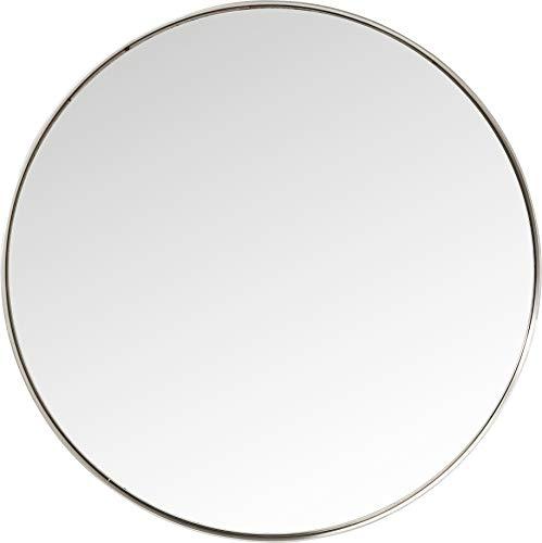 Kare Design Miroir Curve Rond INOX 100cm