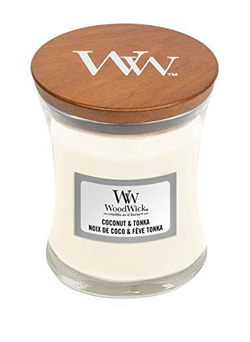 Woodwick Coconut Tonka kleines Glas
