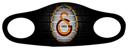 Gök-Türk Maske Mundschutz Anti-Staub Gesichtsmaske (Besiktas Galatasaray Fenerbahce Trabzonspor Atatürk Zülfikar Hz.Ali Clown Schädel Camouflage Ay Yildiz Bozkurt Ertugrul Türk) (Galatasaray)
