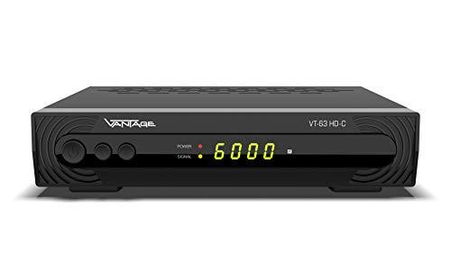 Vantage VT-83 HD HD-SAT-Receiver Einkabeltauglich, Campingbetrieb Anzahl Tuner: 1