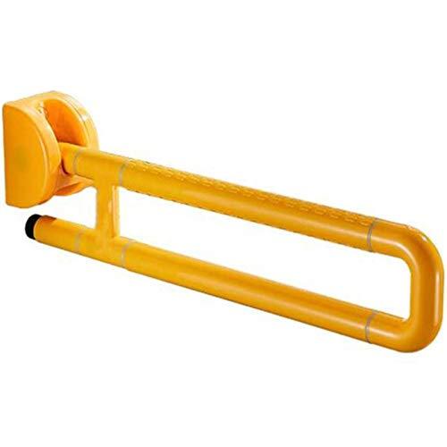 LIUYULONG Badegriff Griff Faltbare Handicap Sicherheit Unterstützung Handlauf mit Anti-Rutsch-Partikel und Luminous Circles, Assist Toilette Dusche Haltegriff Hilfswerkzeuge