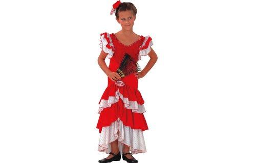 Andaluz Disfraz Flamenca T. 7-9