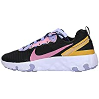Nike Renew Element 55 PRM GS, Zapatillas para Correr para Niños, Black Magic Flamingo Light Thistle, 39 EU