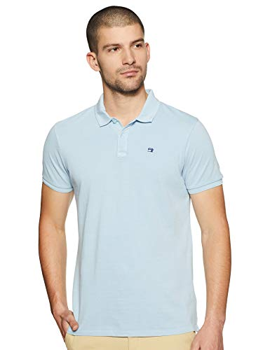Scotch & Soda 99019955099 Polo, Blu (Blue 50), Large Uomo