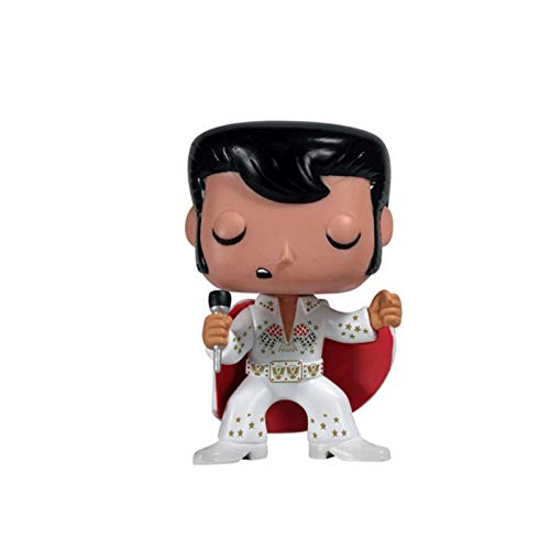 Funko Elvis Presley 70's Aloha Figure Chibi PVC Q Version Vinyl 10cm for Boy