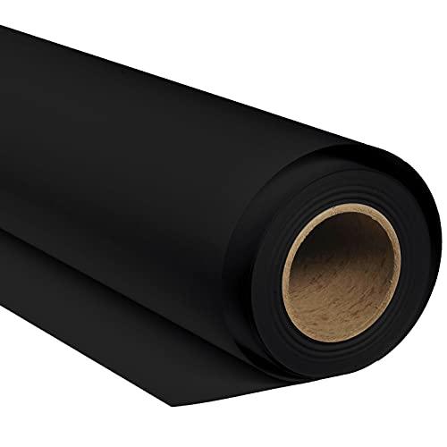 BRESSER SBP09 Papierhintergrundrolle 1,69 x 11m Schwarz