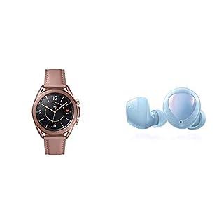 Samsung Galaxy Watch 3 (41mm, GPS, Bluetooth) Smart Watch - Mystic Bronze (US Version) with Samsung Galaxy Buds+ Plus, True Wireless Earbuds, Cloud Blue – US Version (B08P4YGT71)   Amazon price tracker / tracking, Amazon price history charts, Amazon price watches, Amazon price drop alerts