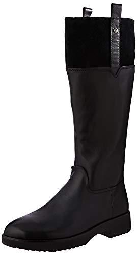 Fitflop Damen Signey Mixte Hohe Stiefel, Schwarz (All Black 090), 42 EU