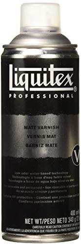 Liquitex Professional Spray Paint - Acrylfarbe, Farbspray auf Wasserbasis, lichtecht, 400 ml - Firnis - matt