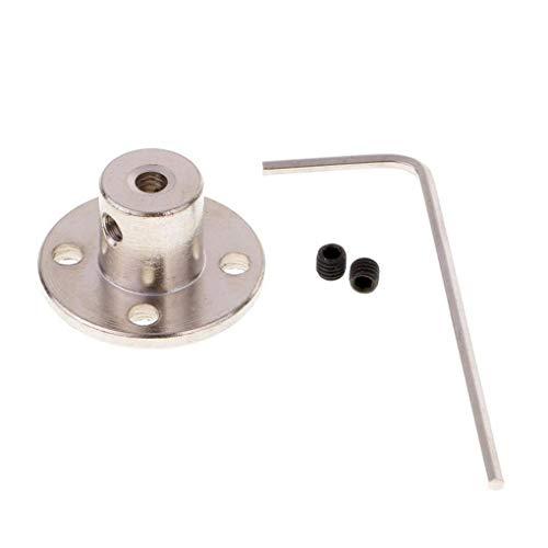 BE-TOOL Flanschkupplung, 5 Stück, starre Flanschkupplung, Motorführungswellenkupplung, Motorverbinder für DIY-Teile (8 mm)