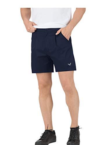 Trigema Herren Tennis-und Freizeit-Short Sport, Bleu-Blau (Navy 046), XXXL Homme