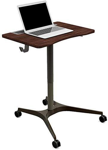 JISHIYU Boden Katheder Rollen Laptopwagen Mobil Laptop Desk Mit Rädern stehend Büro Konferenztisch Lecture Tabelle Nachttisch for Büromöbel (Color...