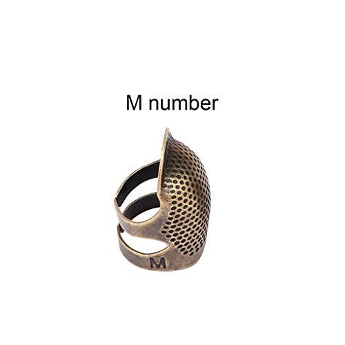 Bomcomi Dedales Costura Metal yema Dedo Protector