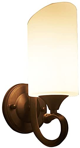 Applique Parete Ferro E27 LED Lampada Parete Villaggio Livingside Studio Corridoio Scala Aisle 13x23cm. HAODAMAI