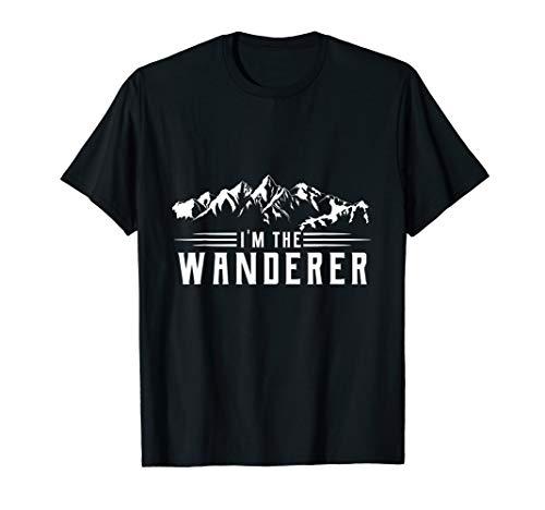 Lustiges Berge Wandern Geschenk T-Shirt