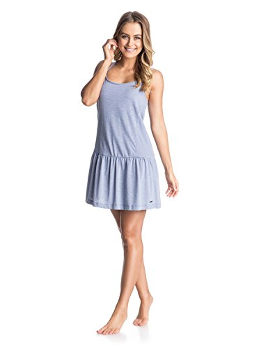 Roxy Damen Strickkleid Pacific State J KTDR, Light Denim, M, ARJKD03035-PMK0
