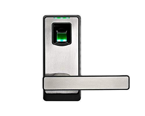 ZKTeco Biometric Door Lock Fingerprint Lock with Bluetooth, Keyless Entry Door Lock with Smart Phone