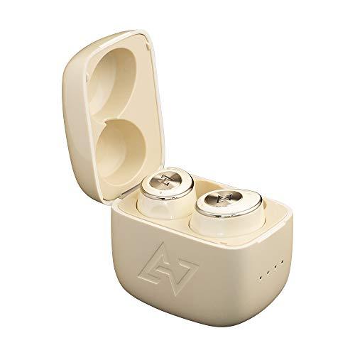 【VGP 2021 受賞】AVIOT TE-D01m(アイボリー)ワイヤレス イヤホン Bluetooth 対応【完全ワイヤレスイヤホン / 最大50時間音楽再生 / アクティブノイズキャンセリング/パッシブノイズキャンセリング/ANC/小型・軽量/高品位な通話性能/外音取り込み機能 / IPX4防水規格 / 専用アプリ対応 / Bluetooth5.2対応 / cVcノイズキャンセリング】