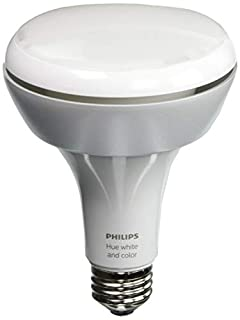 Philips Hue White and Color Ambiance 1st Generation BR30 60W Equivalent Dimmable LED Smart Flood Light (Older Model Compatible with Amazon Alexa Apple HomeKit and Google Assistant) (B00HNLQQ7K) | Amazon price tracker / tracking, Amazon price history charts, Amazon price watches, Amazon price drop alerts
