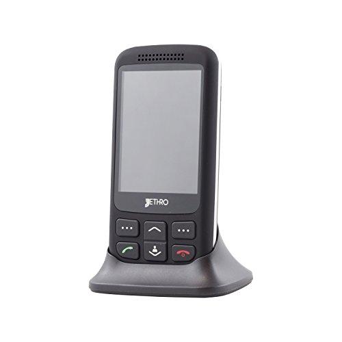 Jethro 3G Unlocked Senior & Kids Slider Cell Phone Model SC435 with Free SIM Card
