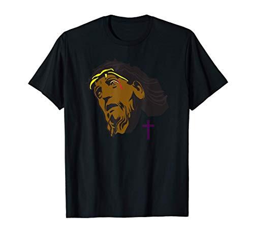 Negro Jesús Africano Jesús Cristo Cristiano Camiseta