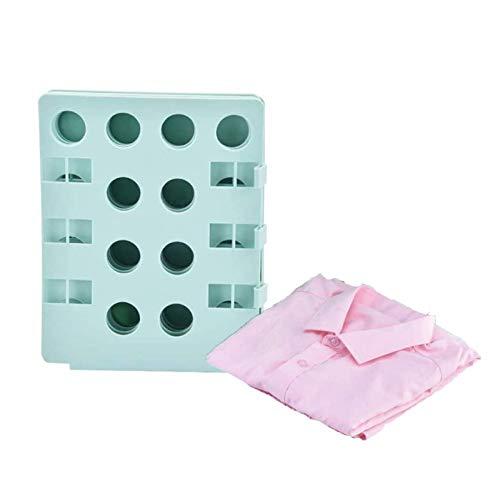 NXM Doblador De Ropa Tabla para Doblar La Ropa Carpeta De Camisa Tablero Plegable De Ropa Placa Ayuda para Plegar La Ropa Camisetas Tablero para Plegar Camisas,Verde