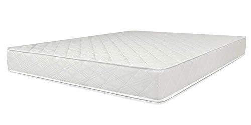 Sleep8 Colchón Básic 190X135 CM. Colchón de Espuma Muy Flexible y Duradero propiedades hipoalergénicas y de regulación de la Temperatura