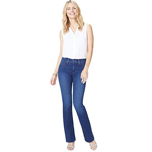 NYDJ Womens Barbara Boot-Cut Jeans, Cooper, 6