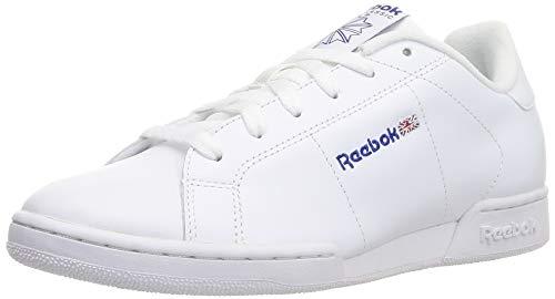 Reebok NPC II, Zapatillas de Cuero para Hombre, Blanco (1354), 43 EU