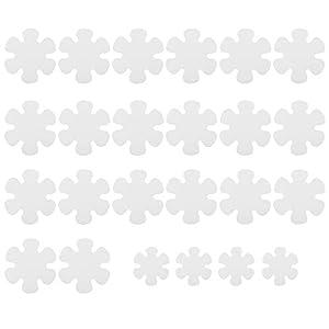 N\A - Pegatinas antideslizantes con diseño de flores, 24 unidades, para bañera, ducha, piscinas, barcos, escaleras