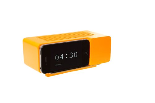 Areaware Alarm Dock Docking Station iPhone 4/4S oranje