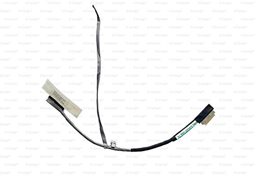 X-Comp DC020012Y50 - Cable de vídeo LCD para Acer Aspire One D255, D255E, D260, E100, NAV70, PAV70, L2704U