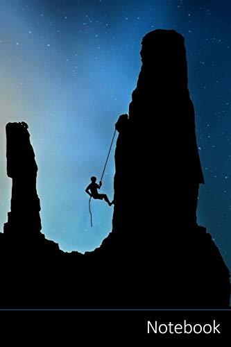 Notebook: Alpinista, Salita, Arrampicata Sportiva, Alpinismo taccuino / agenda / quaderno delle annotazioni / diario / libro di scrittura / carnet / ... x 22,86 cm), 150 pagine, superficie lucida.