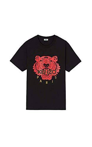 Kenzo Schwarz Herren Tiger T-Shirts (S)
