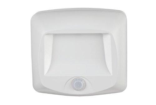 MR BEAMS(ミスタービームス) LED 人感センサー ライト 階段廊下用 【常夜灯モードで暗くなると自動点灯/乾電池式】MB530