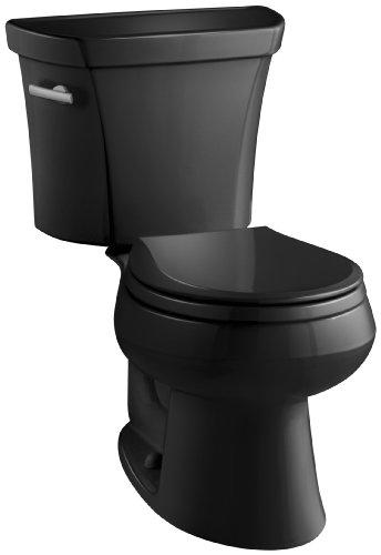 Kohler K-3977-7 Wellworth Toilet, Black Black