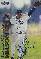 Nelson Cruz Detroit Tigers 1999 Fleer Tradition Autographed Card. This item comes with a certificate of authenticity from Autograph-Sports. Autographed - Baseball Slabbed Autographed Cards