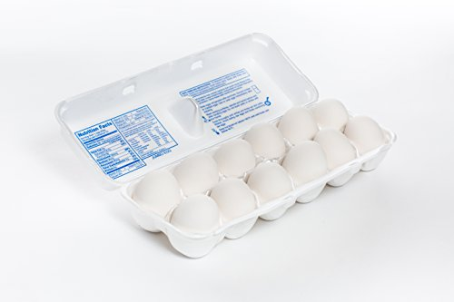 Eggbox.com Foam One Dozen Jumbo Cartons - 100 pcs
