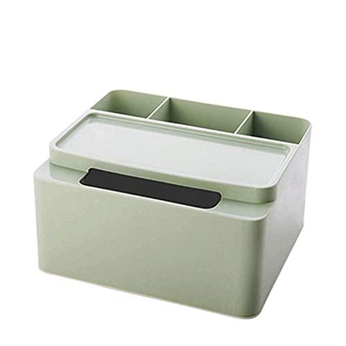 HYLK Boîte de Rangement - Boîte de Rangement en Plastique pour Meuble-lavabo pour comptoir de Salle de Bain Boîte de Rangement pour télécommande de Bureau (Couleur: C)