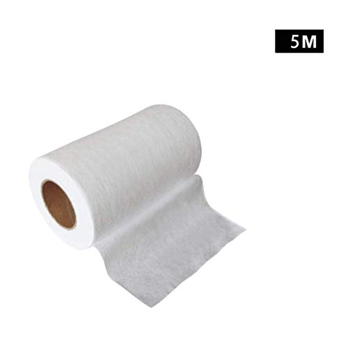 5-100M Anti Dust Filter Fabric Meltblown Nonwoven Fabric Original Cloth Material Filter Fabric For Mouth Mask, Strongly Protection from Dust, Pollen, Pet Dander, Other Airborne Irritants (5m)