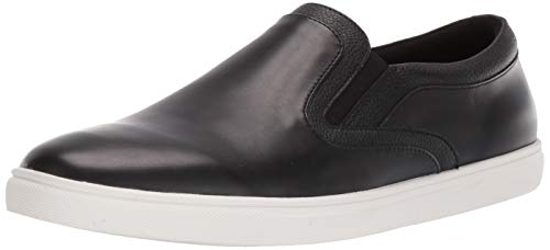 Unlisted by Kenneth Cole Men's Stand Slip ON SNKR Sneaker, Black,12