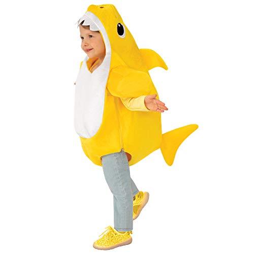 Rubies - Disfraz de tiburón bebé con Chip de Sonido para niños (701702-S)