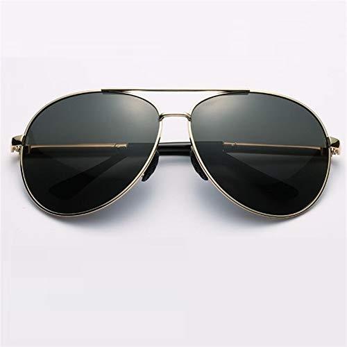 HAISERVEN 160 mm de Gran tamaño de los Hombres de los vidrios de Sun Gafas de Sol polarizadas Big Fat Face for Hombre antideslumbrante de conducción Espejo de la Manera UV400 Gafas de Sol