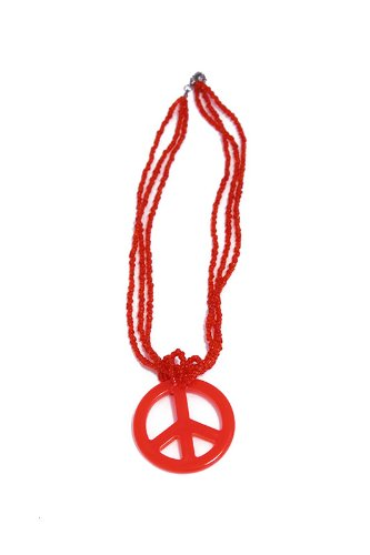 Generique - Collier Hippie Rouge