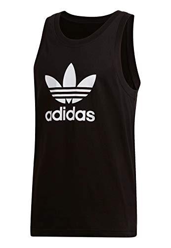 adidas Herren Trefoil Tank Top, Black, XL