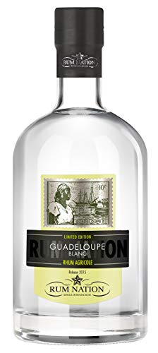 Rum Nation Guadeloupe Rhum Agricole Blanc Limited Edition mit Geschenkverpackung (1 x 0.7 l)