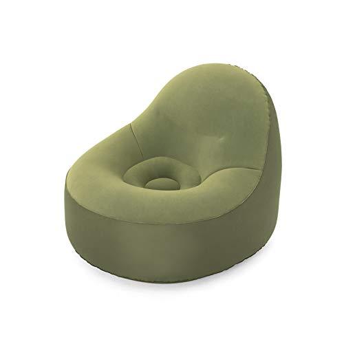 Bestway 75082 | Poltrona Gonfiabile ToughPod, 105X98X76 cm, Verde