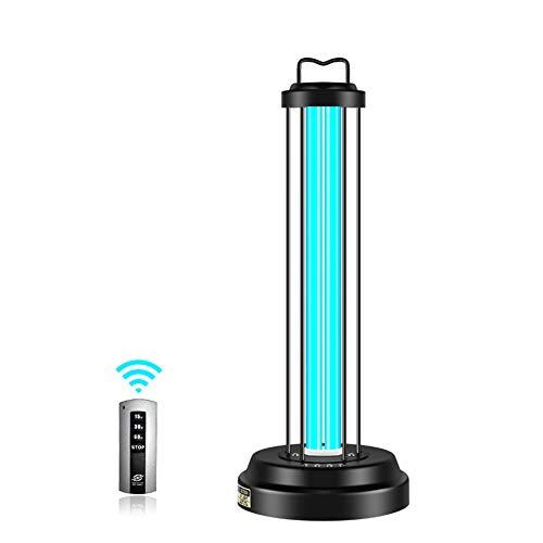 Uv-kiemdodend Licht Met Voet, Ultraviolette Lamp Draagbare Desinfectie Met Uvc-ozon Verwijder Tapijt, Kastgeur, Reinigt Lucht