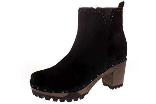 Softclox S3497 OLESSIA Kaschmir - Damen Schuhe Stiefel - 03-schwarz, Größe:39 EU